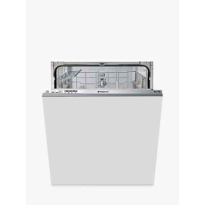 Hotpoint LTB4B019 Integrated Dishwasher, White