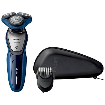 Philips S5600/41 Aquatouch Electric Shaver, Blue