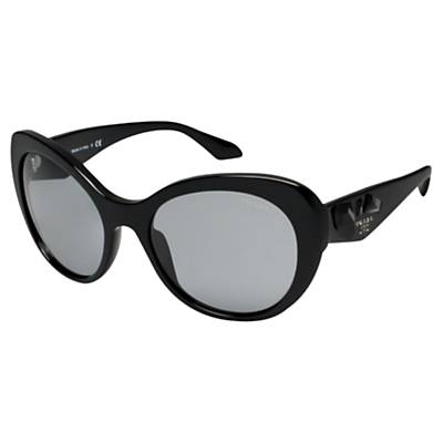 Prada 26QS Sunglasses, Black