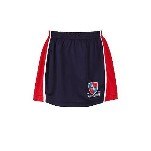 Unbranded Fairley House School Embroidered Skort, Multi, size: W26-28 (XS)