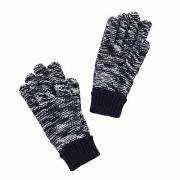 John Lewis Children's Ombre Gloves, Navy, size: 3-5 years