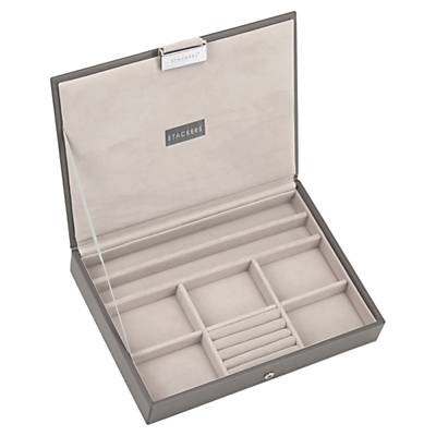 Stackers Jewellery Box Lid, Mink