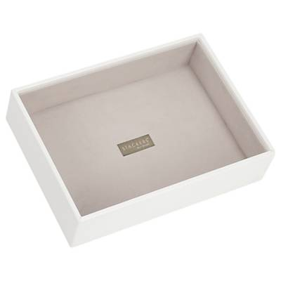 Stackers Jewellery Deep Tray, White