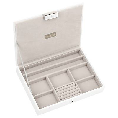 Stackers Jewellery Box Lid, White