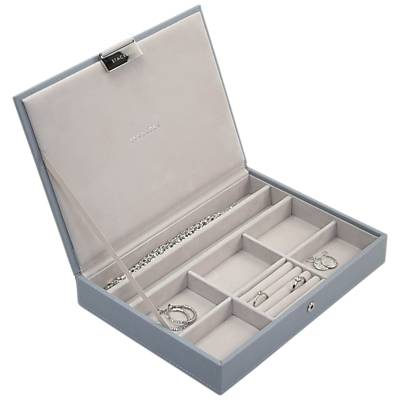 Stackers Jewellery Box Lid, Dusky Blue