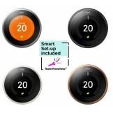 Knowhow Nest Learning Thermostat and Installation - 3rd Generation 3rd