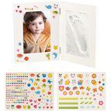 Your Design 2-teiliger Rahmen für Babyfoto und Gipsabdruck, 36,5 x 23,5 cm