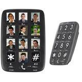 simvalley communications Senioren-Festnetz-Telefon mit 12 Foto-Schnellwahl-Tasten, Freisprecher