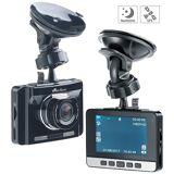 NavGear Full-HD-Dashcam mit autom. Nachtsicht-Modus, G-Sensor & GPS-Empfänger