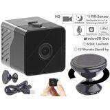 Somikon Mobile Mini-HD-Überwachungskamera mit Bewegungssensor, 1 Jahr Stand-by