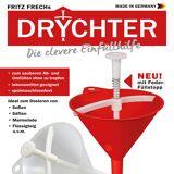 Fritz Frechs DRYCHTER 2.0 mit Dosier Feder, 400ml, rot