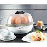 Rosenstein & Söhne 2in1-Eierkocher mit Warmhalte-Funktion, 400 Watt, 6 Eier oder Rührei