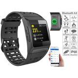 newgen medicals GPS-Sportuhr, Bluetooth, Fitness, Puls, Nachrichten, Farbdisplay, IP68