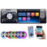 Creasono MP3-Autoradio mit TFT-Farbdisplay, Bluetooth, Freisprecher, 4x 45 Watt