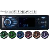 Creasono MP3-Autoradio mit DAB+, Bluetooth & Freisprech-Funktion, 4x 45 Watt