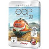 EEP Eisenbahn.exe 11 Platinum in dekorativer Metall-Reliefbox