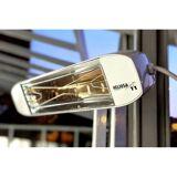 Heliosa 11 Infrarot-Heizstrahler (Farbe: Weiss, Ausführung: Amber Light (80% Lichtreduktion))