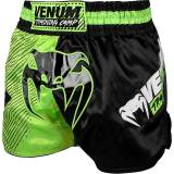 Venum Training Camp Muay Thai Shorts - Black/Neo Yellow 2XL