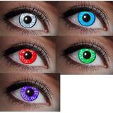 Zölibat UV Kontaktlinse Schwarzlicht Diamant Edelstein grün