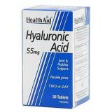 HealthAid Health Aid Hyaluronic Acid 55mg. 30comp. Health Aid