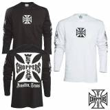 West Coast choppers T-Shirt manches longues OG Croix