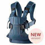 BABYBJ�RN BABYBJORN Baby Carrier One, Cotton Mix, Classic Denim/Midnight Blue...