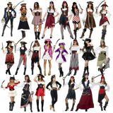 Smiffy's Costume de pirate dames plus de 20 modèles pirate pirates des Caraï...