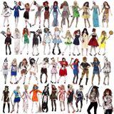 Smiffy's Mesdames costume Zombie sur horreur Halloween 40 versions robe luxe