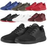 Urban Classics - LIGHT RUNNER Unisex Sneaker Sport Schuhe Schwarz/W...