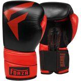Forza MMA Forza Sport Pro Leder Boxhandschuhe - schwarz/rot