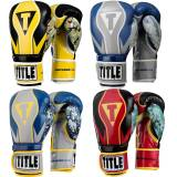Title Boxing Infused Foam Honor Combat Hook and Loop Training Glove...