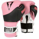 Title Boxing Titel Gel Spannung Training Boxhandschuhe - Pink/schwarz