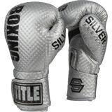 Title Boxing Titre argenté série de boxe stimuler crochet et boucle sac gants de...