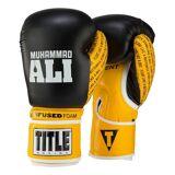 Title Boxing Titre boxe Ali infusé mousse crochet et boucle formation boxe gants...