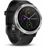 Garmin Vivoactive 3 GPS Smart Watch - schwarz Stahl