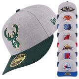 New Era 59Fifty Low Profile Cap - NBA alle Teams heather Oklahoma C...