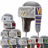 New Era NFL Team Wintermütze mit Kunstpelz FROSTY TRAPPER Dallas Co...