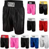 Title Boxing Titolo Boxing Youth bordo classico raso prestazioni Boxing Trunks