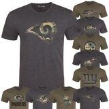New Era Nuova Era NFL Fan Shirt - Squadra Logo carbone / camo in le...