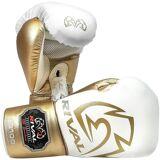 Rival Boxe RS100 Pro Sparring gants de boxe - Blanc / Or