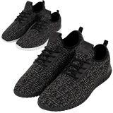 Urban classics - KNITTED light runner shoes