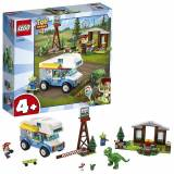 Lego Toy Story 4 RV Vacation Truck con Jessie, Alien, Rex e Forky M...
