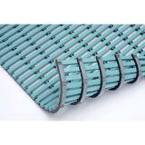 Nassraummatte, antibakteriell pro lfd. m mint, Breite 600 mm