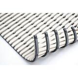 Nassraummatte, antibakteriell 10-m-Rolle weiß, Breite 1000 mm