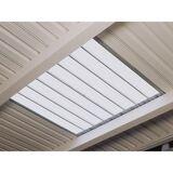 Mehrpreis für Dachlichtband einschalig LxB 2000 x 1000 mm
