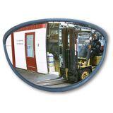 EUROKRAFT Weitwinkelspiegel für innen und außen, 180° BxHxT 820 x 420 x 330 mm