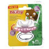 Nûby™ Erste Zahnungshilfe aus Silikon Rosa 0M+