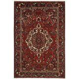 Nain Trading Orientalischer Bakhtiar Teppich 312x210 Dunkelgrau/Dunkelbraun (Persien/Iran, Wolle, Handgeknüpft)