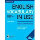 English Vocabulary in Use Upper-Intermediate Book with Answers and Enhanced eBook by Michael McCarthy
