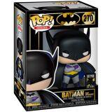 Batman FUNKO POP Vinylfigur! -  Batman Batman (First Funko Pop Vinylfigur-multicolor - Offizieller & Lizenzierter Fanartikel - Offizieller & Lizenzierter Fanartikel